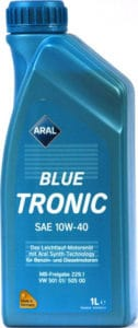 ARAL BLUE TRONIC SAE 10W40 1L ΛΑΔΙ ΚΙΝΗΤΗΡΑ