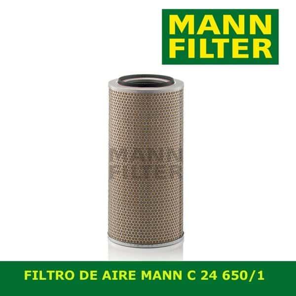 C24650/1 MANN ΦΙΛΤΡΟ ΑΕΡΟ DAF SCANIA IVECO MAN