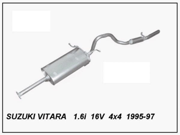 ΕΞΑΤΜΙΣΗ SUZUKI VITARA 1600CC SZ42W ARVIN