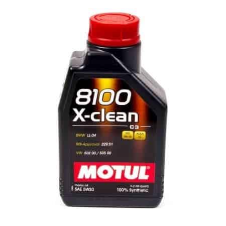 MOTUL 5W30 8100 C3 Xclean+ VW50400 50700 LL04BMW